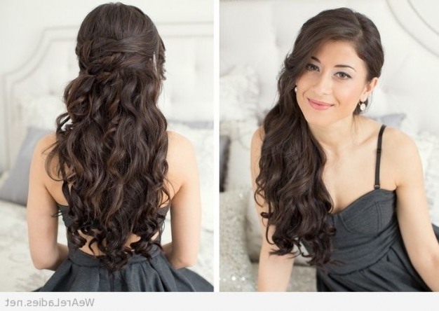 Homecoming Hairstyles For Long Straight Hair – Hairstyles For Long With Latest Straight Hair Updo Hairstyles (View 6 of 15)