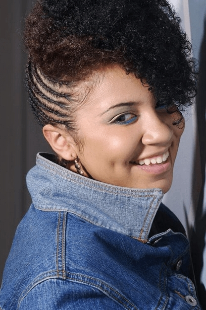 Hottest Natural Hair Braids Styles For Black Women In 2015 Regarding 2018 Updo Hairstyles For Black Women With Natural Hair (View 14 of 15)