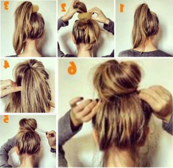How To Add Hair Volume, For Thin Hair Making Ideal Messy Hairstyles Inside Most Recently Easy Updo Hairstyles For Long Thin Hair (View 13 of 15)