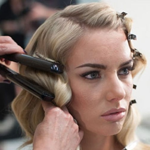 How To Cheat Finger Waves! Why Didn't Someone Tell Me About This In In 2018 Finger Waves Long Hair Updo Hairstyles (View 12 of 15)