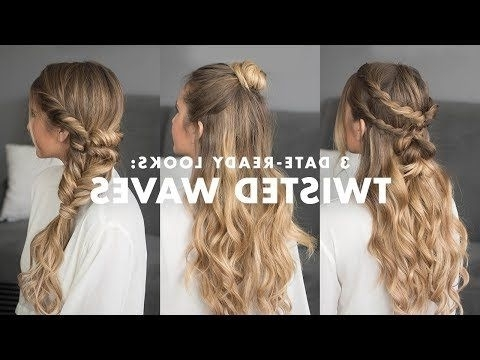 How To Clip In Luxy Hair Extensions – Youtube | Hair | Pinterest For Most Recent Luxy Updo (View 14 of 15)