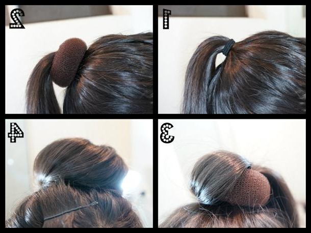 How To Create Updo Hairstyles, Quick And Easy – Paperblog For Most Recent Fast Updo Hairstyles For Short Hair (View 9 of 15)