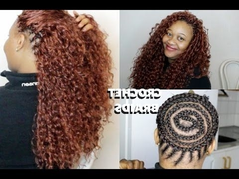 How To Do Beautiful Crochet Braids // Ponytail – Youtube | Diy Hair Within Newest Crochet Braid Pattern For Updo Hairstyles (View 4 of 15)