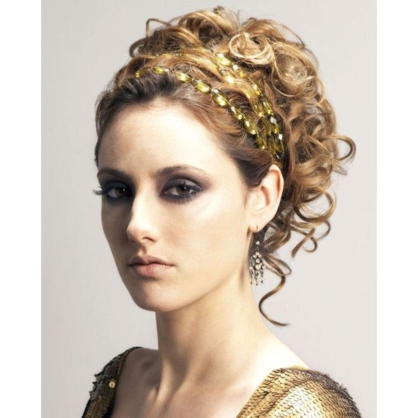 I Chose To Do This Ancient Greece Updo Because Its Very Elegant And With Most Recently Goddess Updo Hairstyles (View 10 of 15)