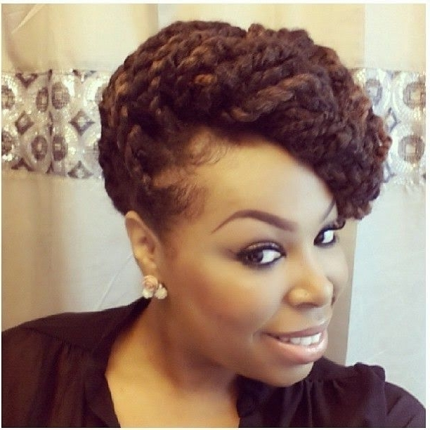 Idées Coiffures Cheveux Crépus | Hair | Pinterest | Cornrows, Hair For Most Up To Date Two Strand Twist Updo Hairstyles For Natural Hair (View 9 of 15)
