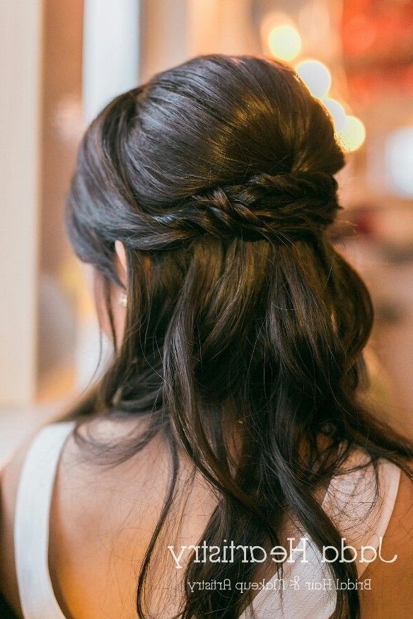 Image Result For Mother Of The Bride Hairstyles Partial Updo Pertaining To Most Current Half Updo Hairstyles For Mother Of The Bride (View 9 of 15)