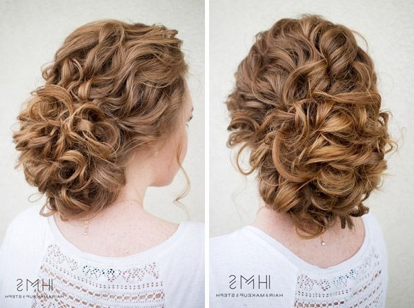 Image Result For Vintage Updo Curly Hair | Naturally Curly Hair Do's Regarding Best And Newest Updos For Curly Hair (View 11 of 15)