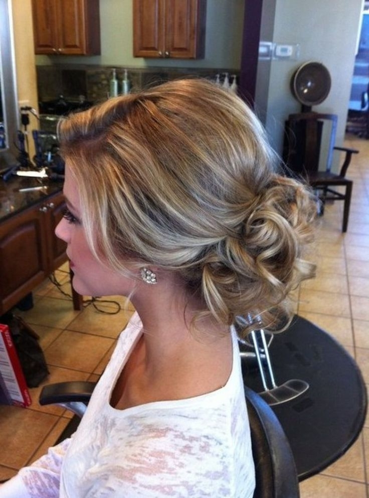 Image Result For Wedding Half Updos For Medium Length Hair | Wedding Throughout Latest Updos For Medium Fine Hair (View 5 of 15)