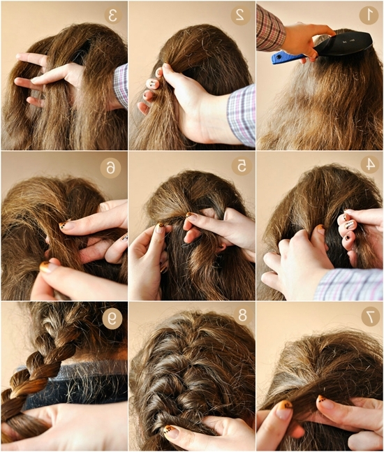 Image Tutorials For Different And Easy Hairstyles – How To Do Everything Regarding Current Easy At Home Updos For Long Hair (View 13 of 15)