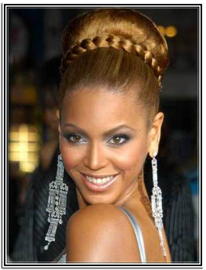 Imgs For > Goddess Braids Updo Hairstyles For Black Women | H A I R Pertaining To Latest Goddess Updo Hairstyles (View 11 of 15)