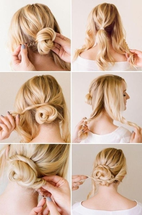 In???r?t??n?l Easy Updo Hairstyles For Long Hair Hair Style Regarding Recent Easy Updo Long Hairstyles (View 10 of 15)