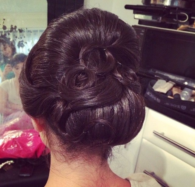 Indian Bridal Updo   Hair   Pinterest   Bridal Updo, Indian Bridal Throughout Most Recently Indian Updo Hairstyles (View 10 of 15)