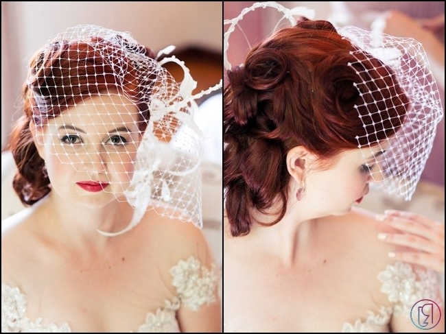 Jaw Dropping Wedding Updos & Bridal Hairstyles intended for Newest Wedding Updo Hairstyles With Veil