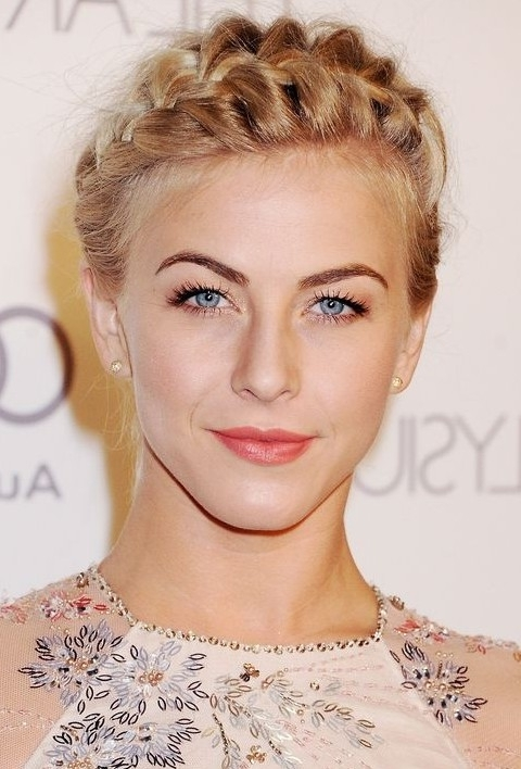Julianne Hough Hairstyles: Pretty Braided Updo - Pretty Designs pertaining to Best and Newest Julianne Ho Hairstylesugh Updo Hairstyles