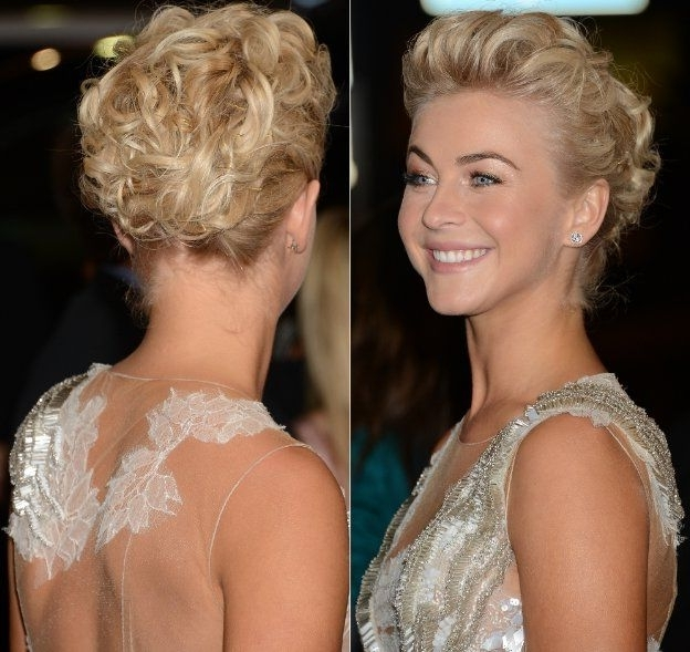Julianne Hough Short Hair 2013 | So, What Are Your Thoughts About intended for Most Up-to-Date Julianne Ho Hairstylesugh Updo Hairstyles