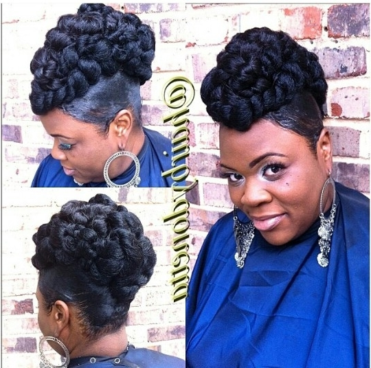Featured Photo of Kanekalon Hair Updo Hairstyles