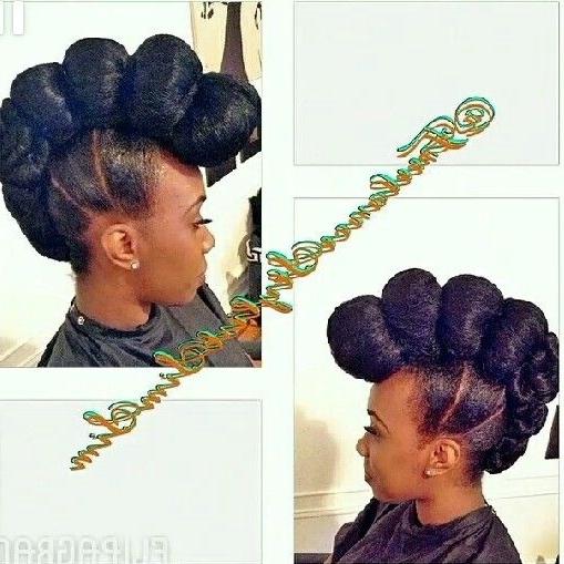 Kanekalon Updo | Hairstyles I Want | Pinterest | Updo, Natural And Pertaining To Newest Updo Hairstyles Using Kanekalon Hair (View 3 of 15)
