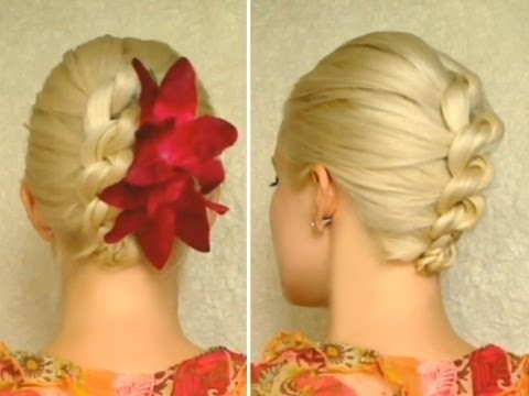 Knot Braid Prom Hairstyle For Medium Long Hair Tutorial Elegant With Regard To Best And Newest Knot Updo Hairstyles (View 14 of 15)