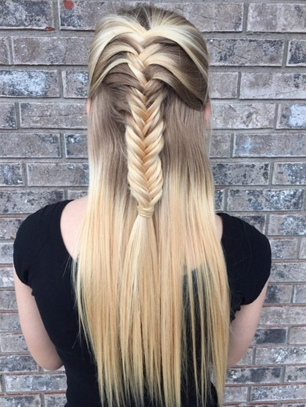 Latest Braided Half Updo Hairstyles – New Hairstyles 2017 For Long With Recent Braided Half Updo Hairstyles (View 11 of 15)