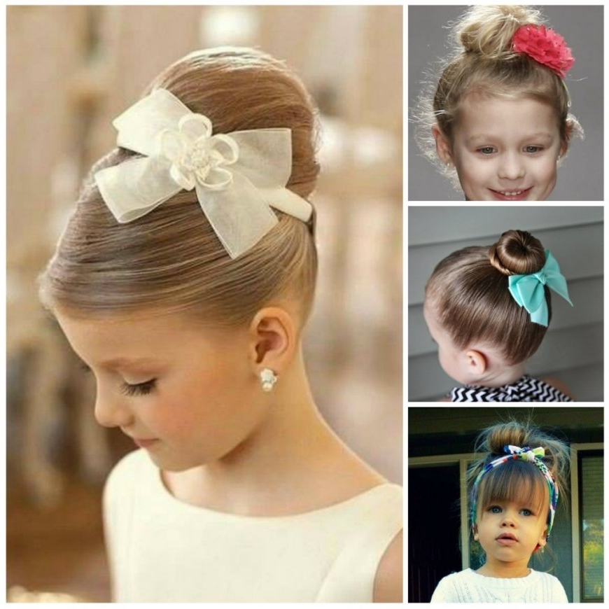 Little Girl Updo Hairstyles Little Girl Updo Hairstyles Black Hair With Best And Newest Little Girl Updo Hairstyles (View 13 of 15)