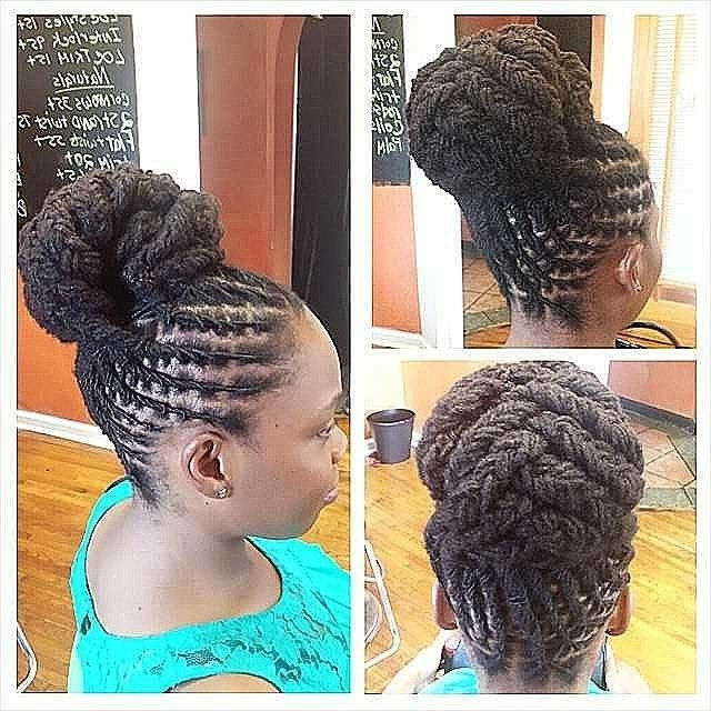 Loc Updo Hairstyles Best Of 205 Best Loc Hairstyles Images On In Recent Updo Hairstyles For Long Locs (View 4 of 15)