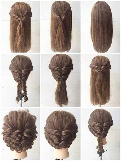 Long Hair Updos, How To Style For Prom, Hairstyle Tutorials In Most Recent Teenage Updos For Long Hair (View 3 of 15)