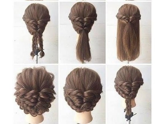Long Hair Updos, How To Style For Prom, Hairstyle Tutorials Within Most Popular Easy Hair Updos For Long Hair (View 10 of 15)
