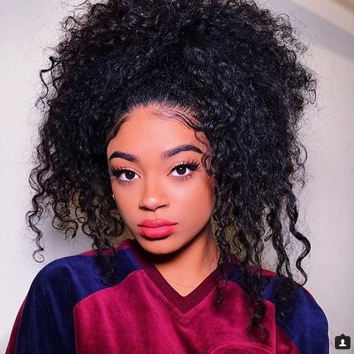 Long Natural Hairstyles 2018 Unique Choices And Options – Hairstyles Pertaining To Most Recently Updos For Long Natural Hair (View 14 of 15)