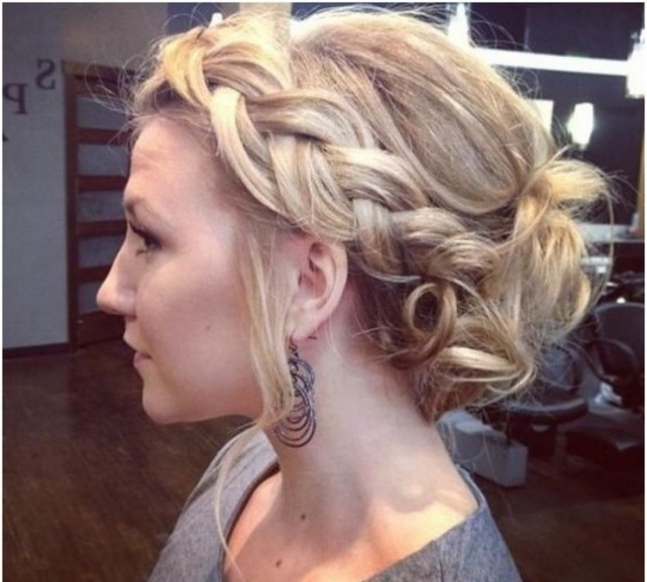 Loose Updo For Long Hair Tag Loose Wavy Updo Hairstyles Archives With Regard To Most Current Loose Updo Hairstyles (View 8 of 15)
