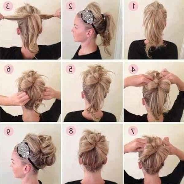 Lovely Quick Easy Short Hair Updos | Dadyd Within Most Recent Quick Easy Short Updo Hairstyles (View 9 of 15)