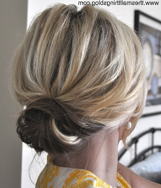 Low Bun Tutorial! Love! This Is How I Want To Wear My Hair To S Within Most Recent Chic Updos For Long Hair (View 9 of 15)