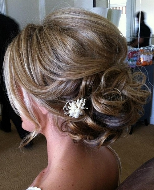 Low Bun Wedding Hairstyles – Chignon Hairstyle For Weddings For Current Chignon Updo Hairstyles (View 14 of 15)