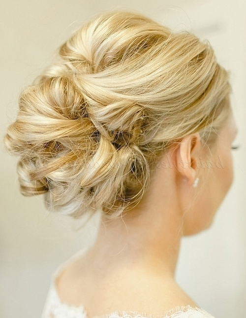 Low Bun Wedding Hairstyles – Low Bun Wedding Hairstyle | Hairstyles Pertaining To Most Current Low Bun Updo Hairstyles For Wedding (View 7 of 15)