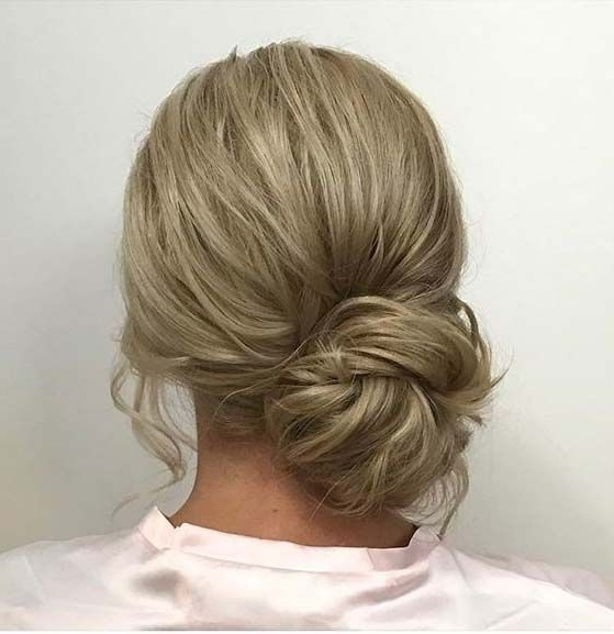 Low Side Bun For Prom Updo Idea | Medium Hair | Pinterest | Low Pertaining To Most Recently Side Bun Updo Hairstyles (View 5 of 15)