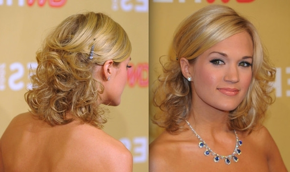 Medium Length Prom Hairstyles – 2010 Prom Hairstyles – Zimbio For Newest Fancy Updos For Shoulder Length Hair (View 14 of 15)