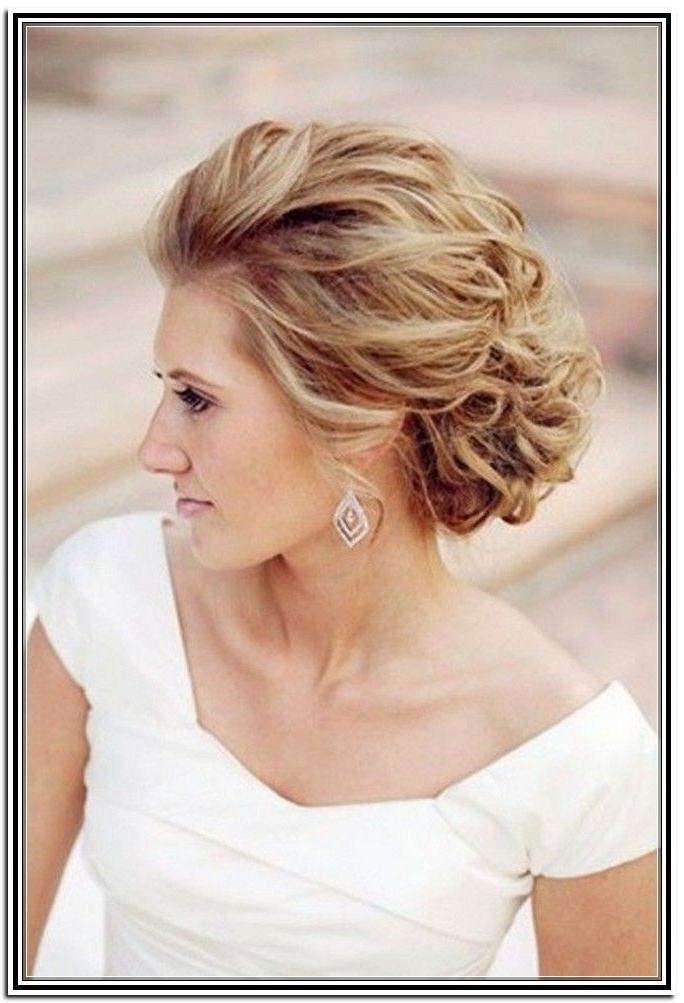 Medium Length Updo Hairstyles 10 Stunning Updos For Mid Length Pertaining To Most Up To Date Wedding Updo Hairstyles For Shoulder Length Hair (View 11 of 15)
