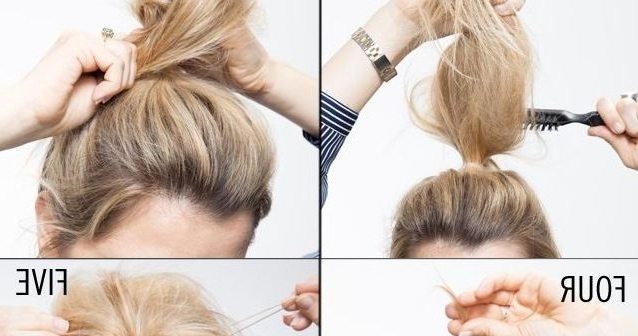Messy And Classy Chignon | Makeup Mania | Hair | Pinterest | Easy With Regard To Newest Easy Updo Hairstyles For Thin Hair (View 12 of 15)