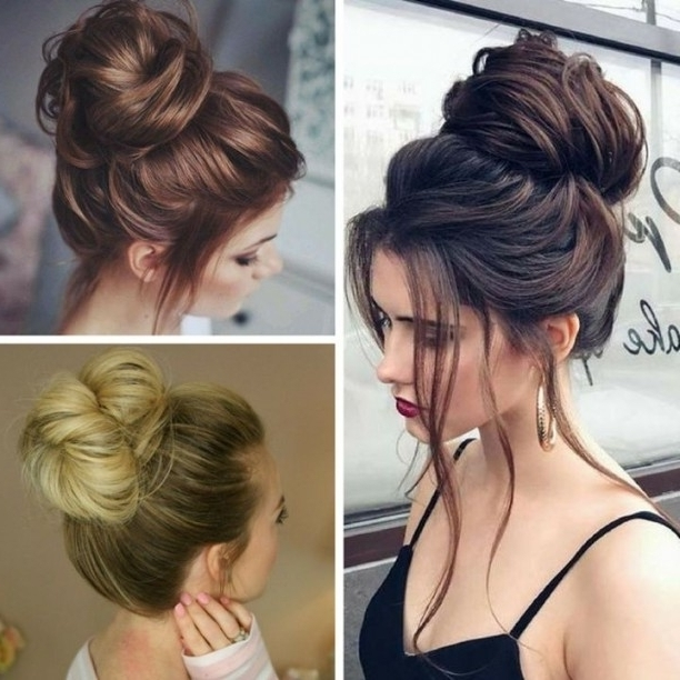 Messy Bun Hairstyles – 2017 Wedding Ideas Magazine – Weddings In Intended For Latest Messy Bun Updo Hairstyles (View 3 of 15)