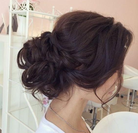Messy Bun, Low Bun, Chignon, | Beauty | Pinterest | Low Buns Within Latest Messy Bun Updo Hairstyles (View 14 of 15)