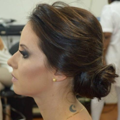 Messy Bun Updo Hairstyles 19 Messy Side Bun Formal Updo Plans | Easy Pertaining To Most Recently Messy Bun Updo Hairstyles (View 7 of 15)