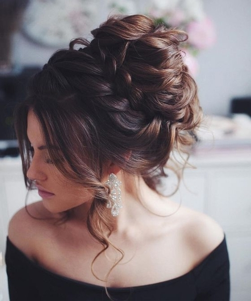 Messy Updo Wedding Hairstyles To Look Beautiful On Your Big Day With Regard To Most Popular Messy Updo Hairstyles (View 9 of 15)