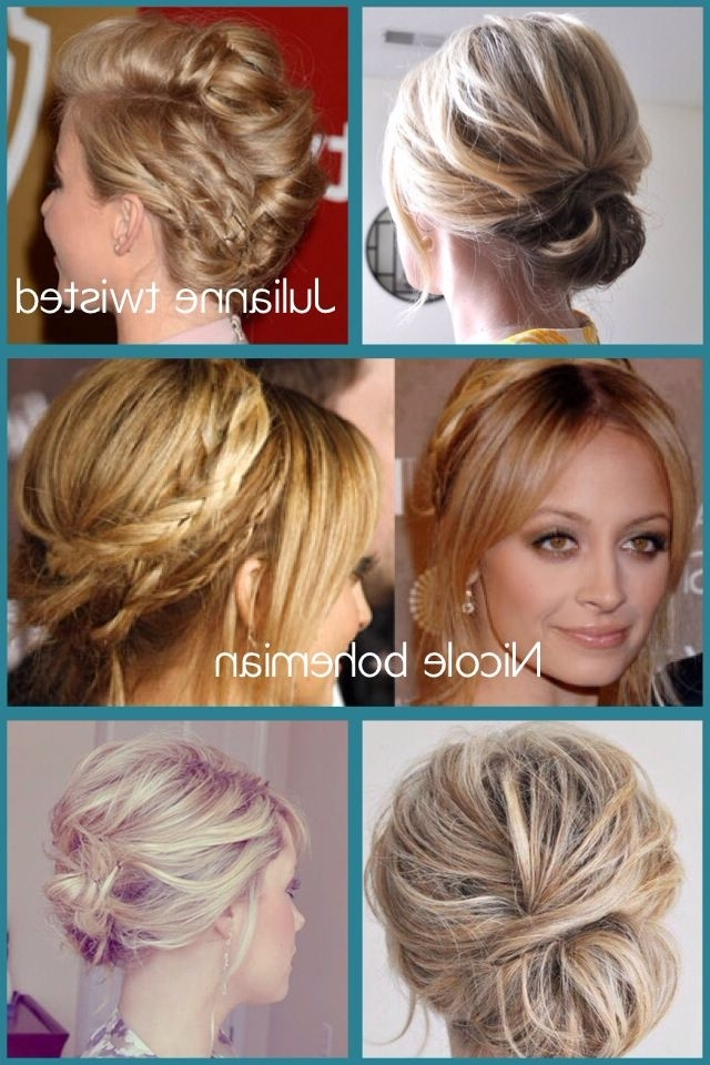 Mid Length Up Do'd – Wow – Image Results | Hair And Beauty Throughout Newest Cool Updos For Medium Length Hair (View 14 of 15)