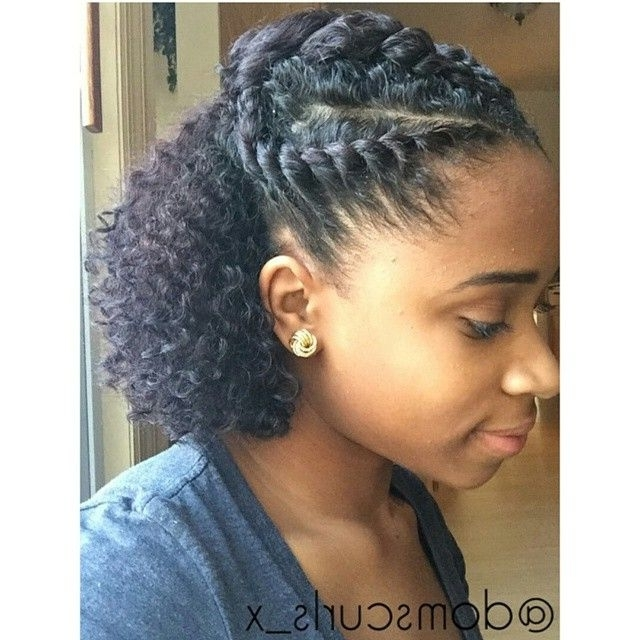 Min Hairstyles For Protective Hairstyles For Medium Length Natural For Recent Natural Hair Updos For Medium Hair (View 13 of 15)