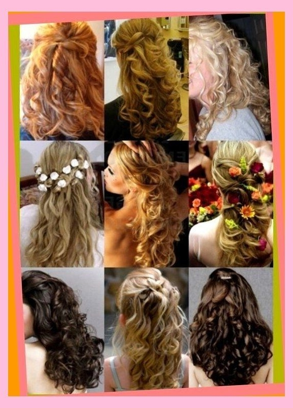 Modern Hair Idea With Additional 28 Best Updo Hairstyles Images On For Most Current Partial Updo Hairstyles (View 4 of 15)