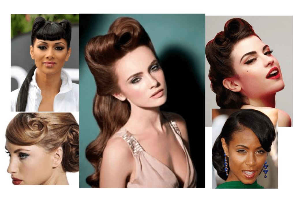 More Updo Hairstyles From The 50's – The Lady Loves Couture In Current 50S Hairstyles Updos (View 14 of 15)