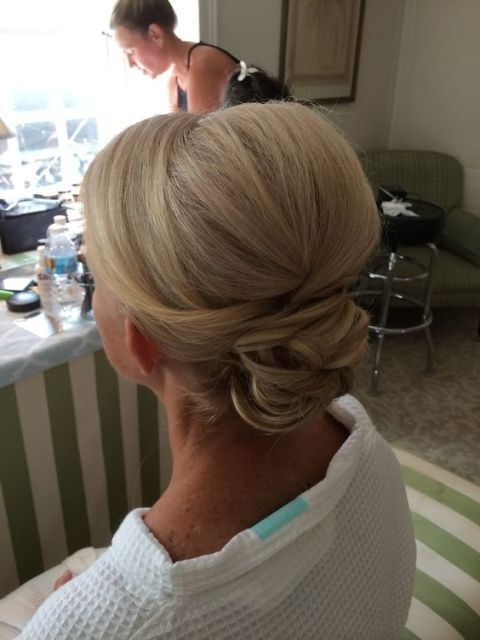 Mother Of The Bride Hairstyles – Latest Hairstyle In 2018 With Most Popular Mother Of The Bride Updos (View 13 of 15)