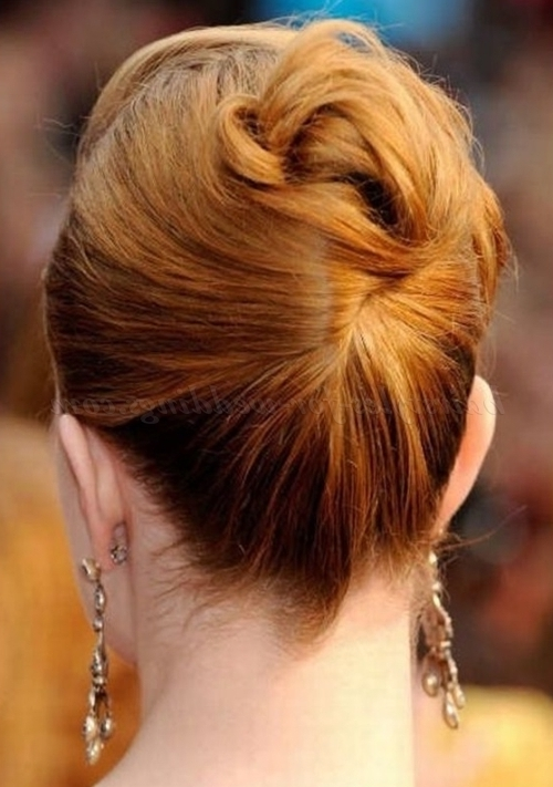 Mother Of The Bride Hairstyles – Mother Of The Bride Updo For Mid Inside Most Up To Date Updo Hairstyles For Mother Of The Groom (View 12 of 15)