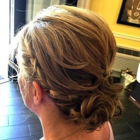 Mother Of The Bride Updo For Shorter Hair   Hair/nails/make Up With Regard To Latest Mother Of The Bride Updo Hairstyles For Short Hair (View 7 of 15)