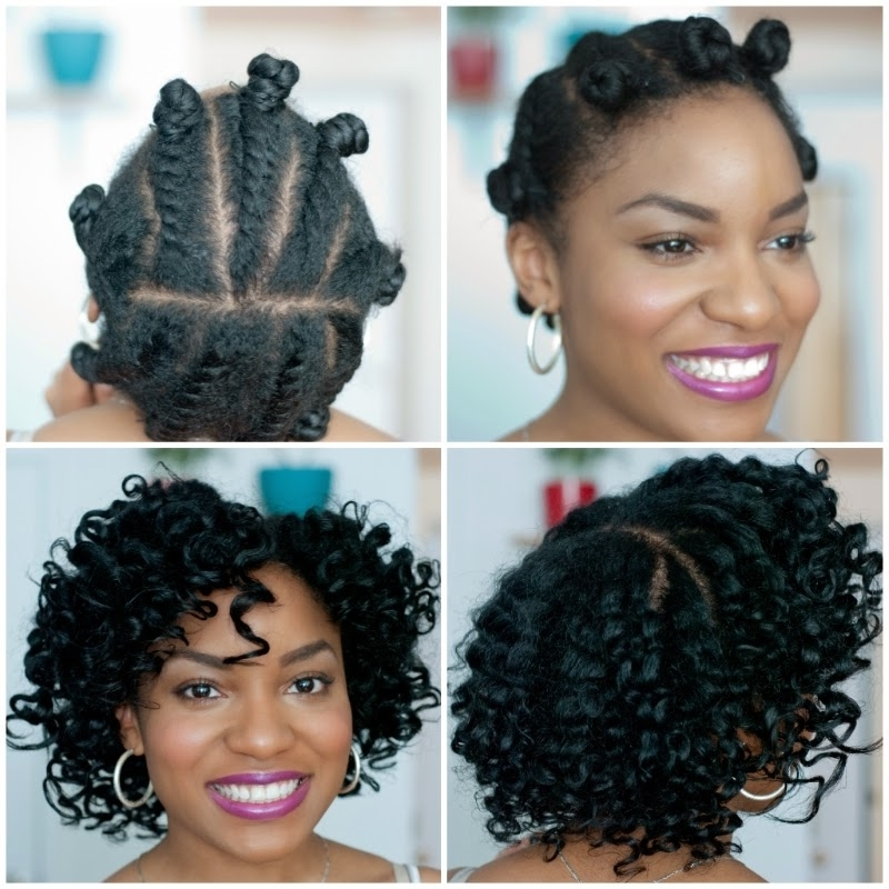My Fair Hair: Flat Twists Bantu Knots: Tips For Styling Intended For Best And Newest Knot Twist Updo Hairstyles (View 12 of 15)