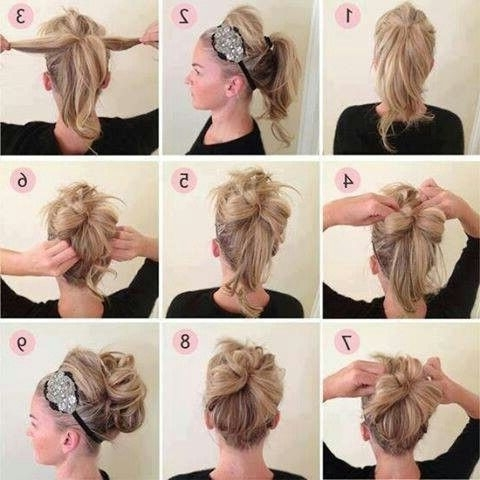 My Homecoming Updo! Great For Medium Length Hair | I'm Such A F@$Hi Throughout Newest Homecoming Updos For Medium Length Hair (View 2 of 15)